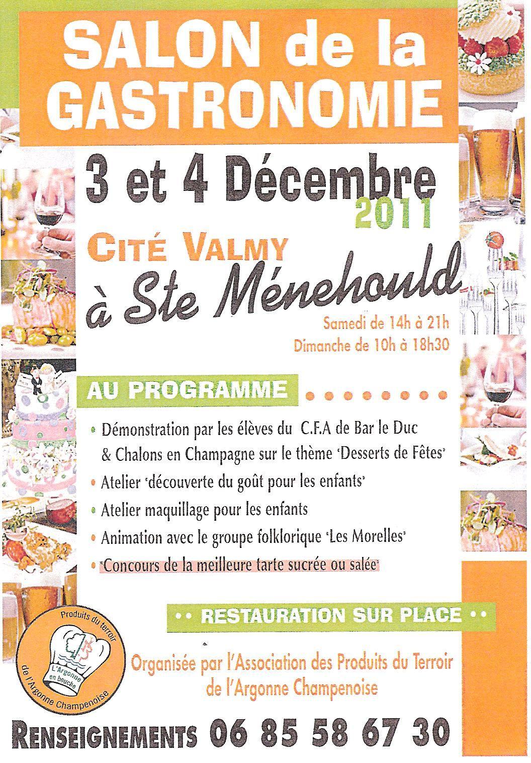 Salon de la gastronomie for Le salon de la gastronomie